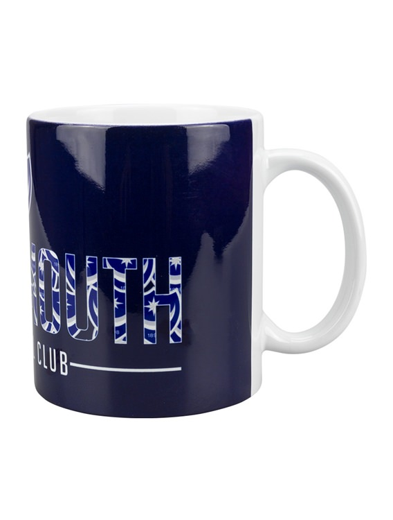 Picture of CREST TEXT MUG