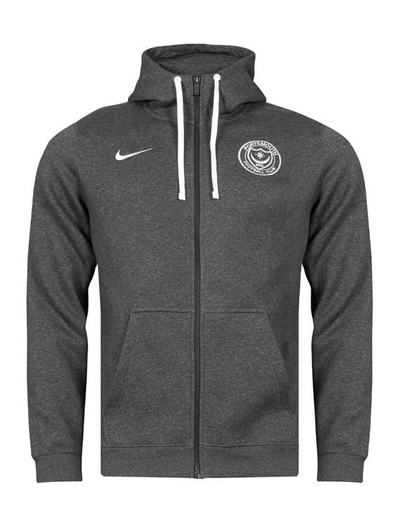 Adult Nike Team Club 19 Full Zip Hoodie
